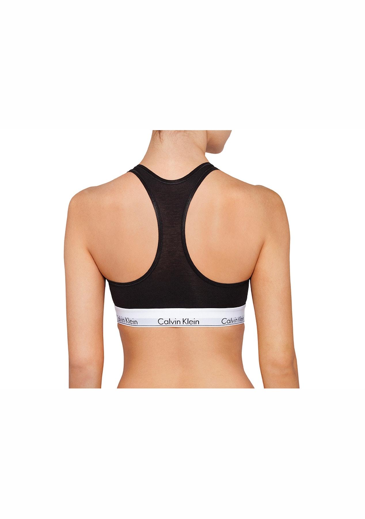 e08c988da6 Calvin Klein - Modern Cotton Bralette   Bikini Set - Black - CK MODERN  COTTON Sets! - Onceit