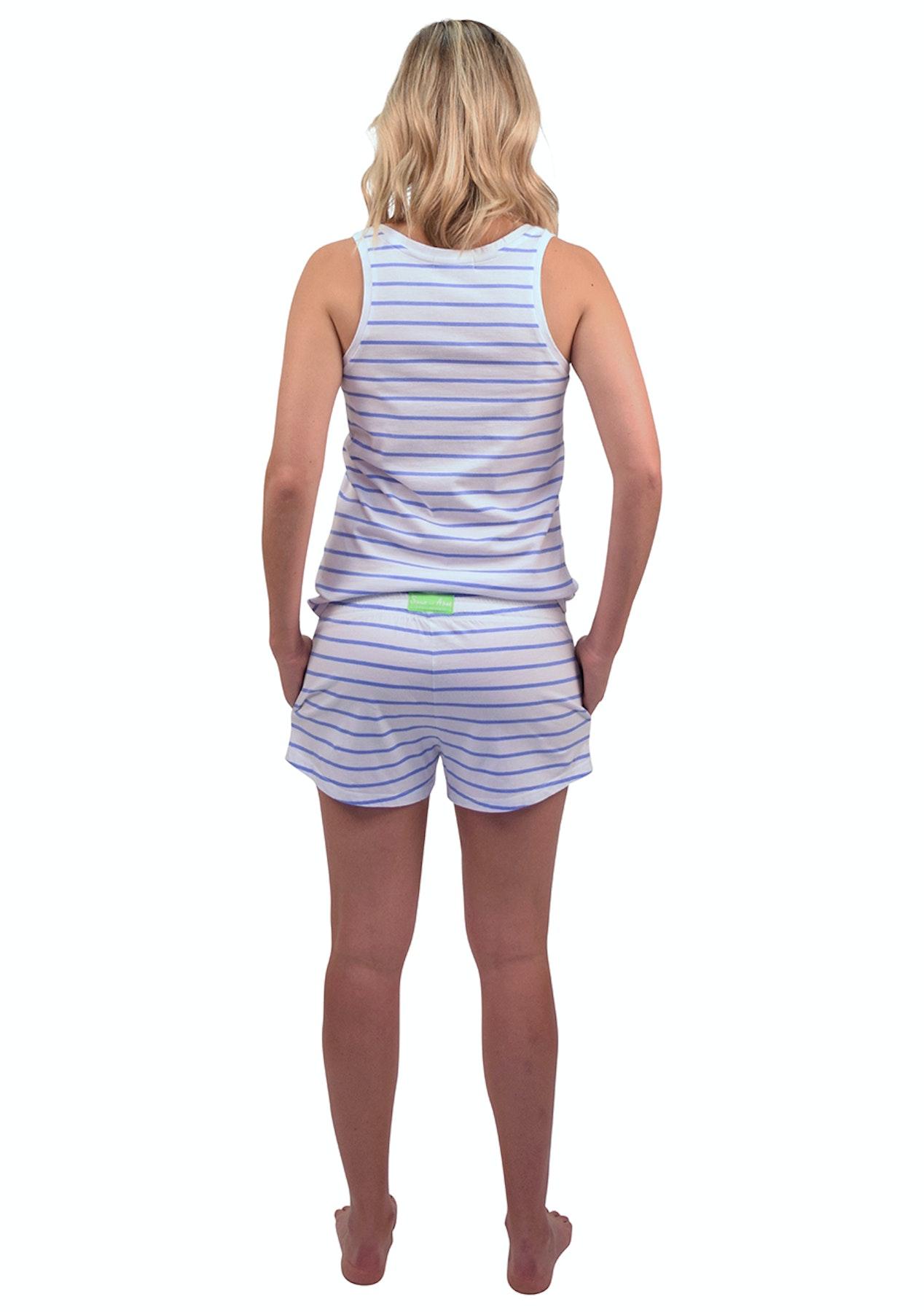 434407daf4c0 Sant   Abel - Women - Tank   Jersey Tops - Blue Zebra - Luxe Silk    Sleepwear - Onceit