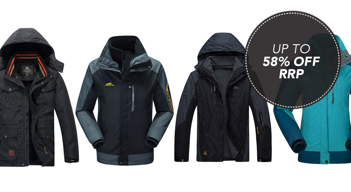 2 in 1 Waterproof Jackets
