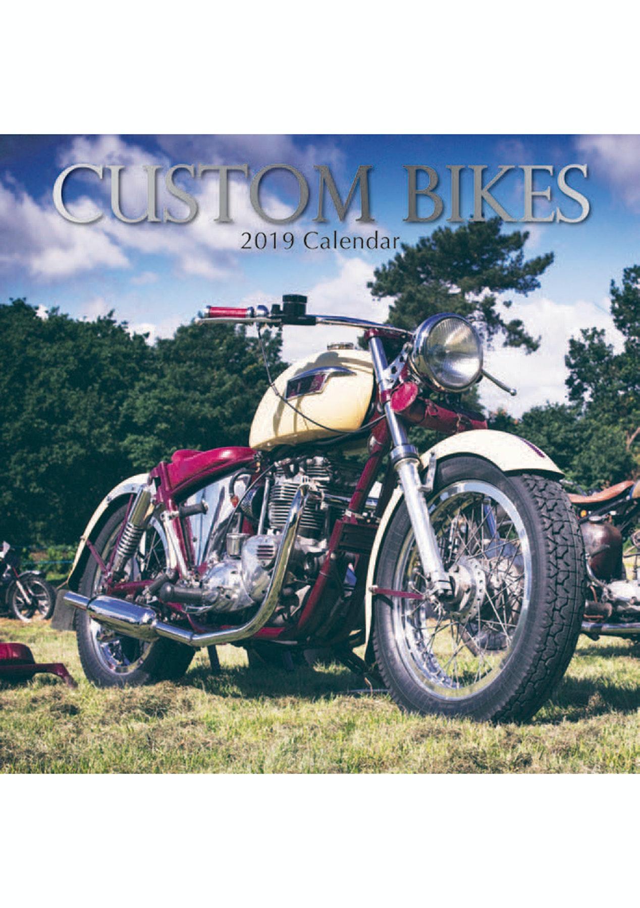 2019 square calendar custom bikes novelty outlet onceit