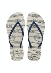 3866c61ecbd3 Havaianas - Slim Nautical 0001 - White