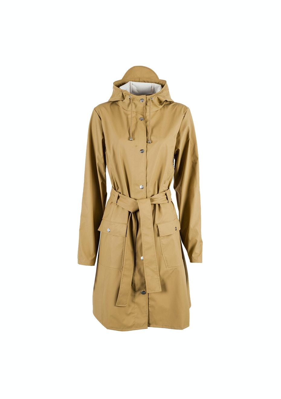 Rains - Curve Jacket - Khaki