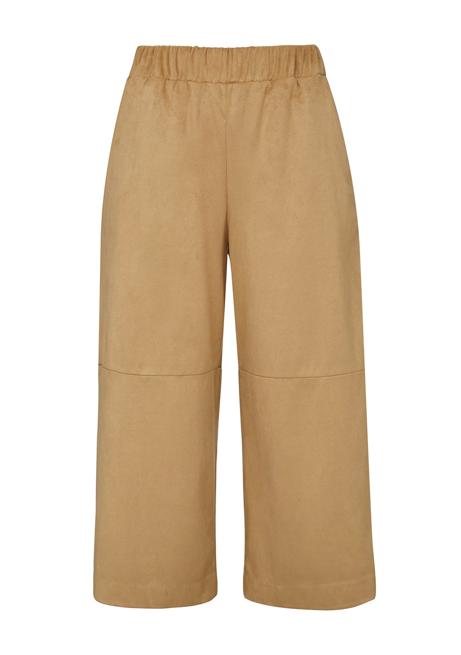French Connection - Faux Suede Culottes - Tan