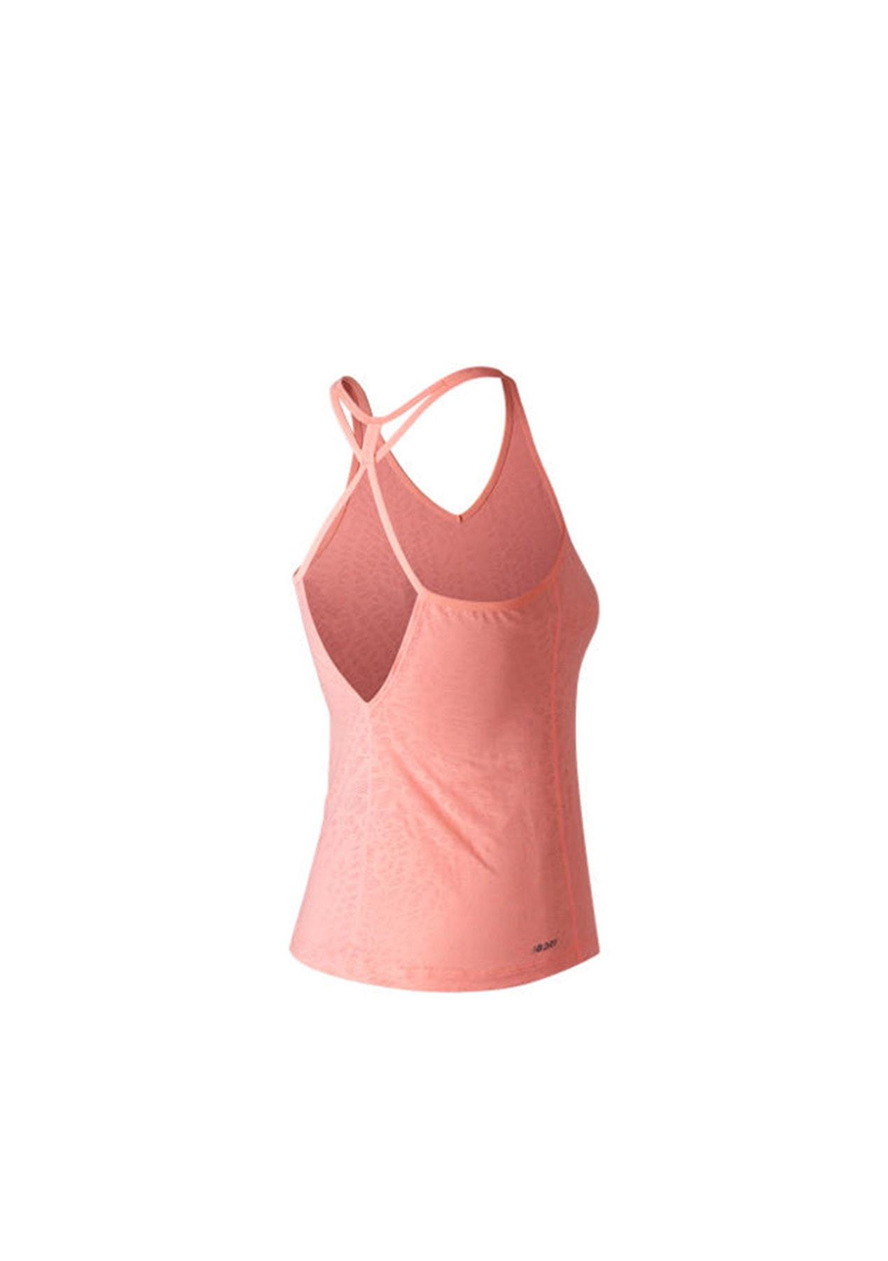 ca4b914611ca5 New Balance Womens - Fashion Tank - Bleached Sunrise - New Balance Womens  Training Edit - Onceit