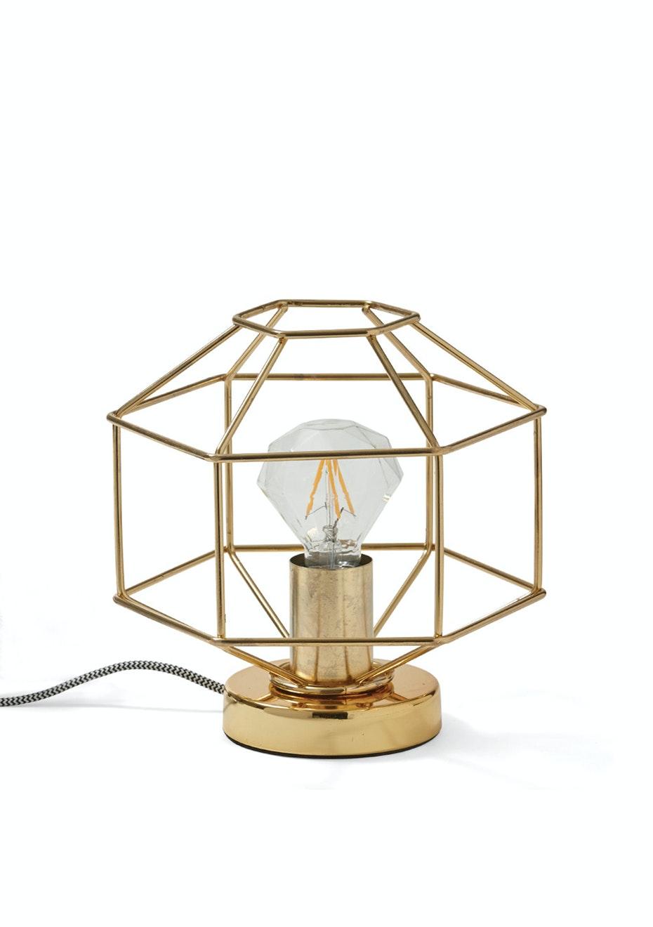 Me & My Trend - Gold Diamond Lamp