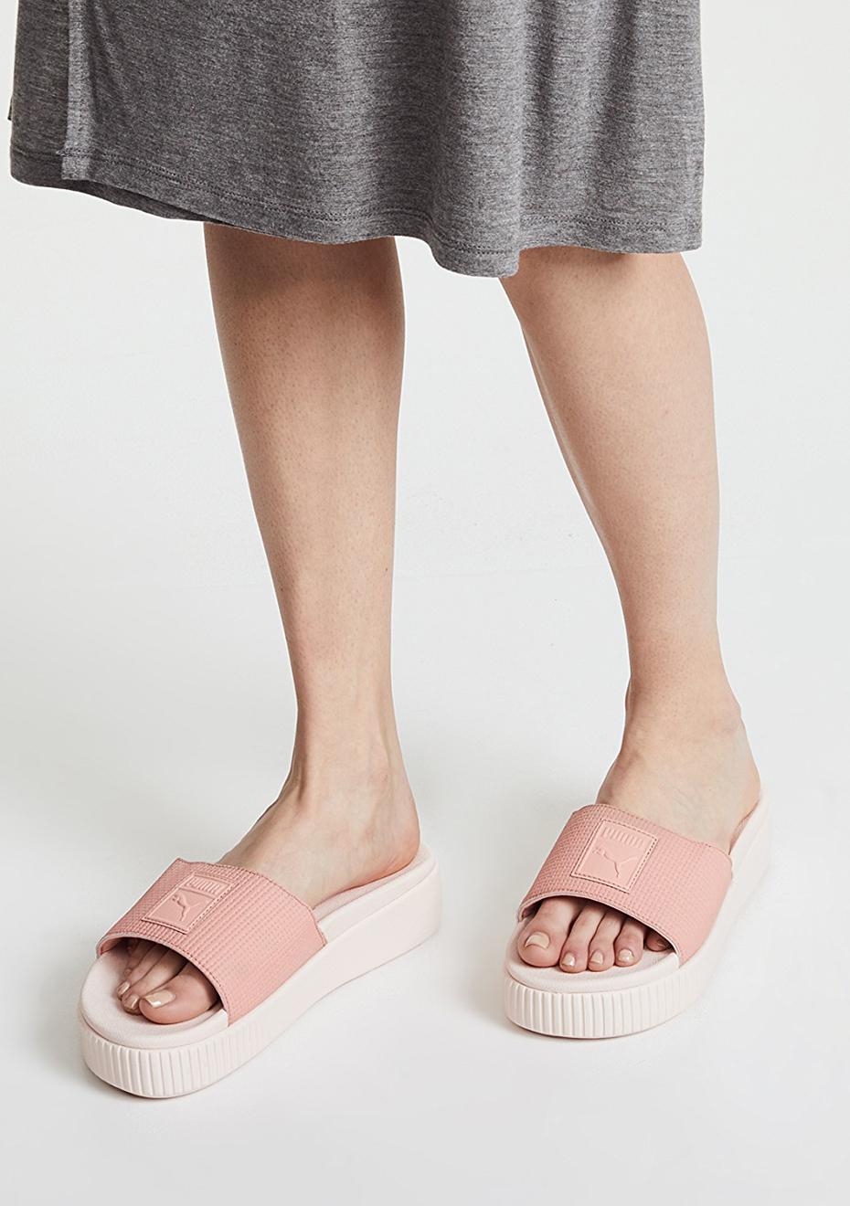 Puma Womens - Platform Slide Ep - Peach