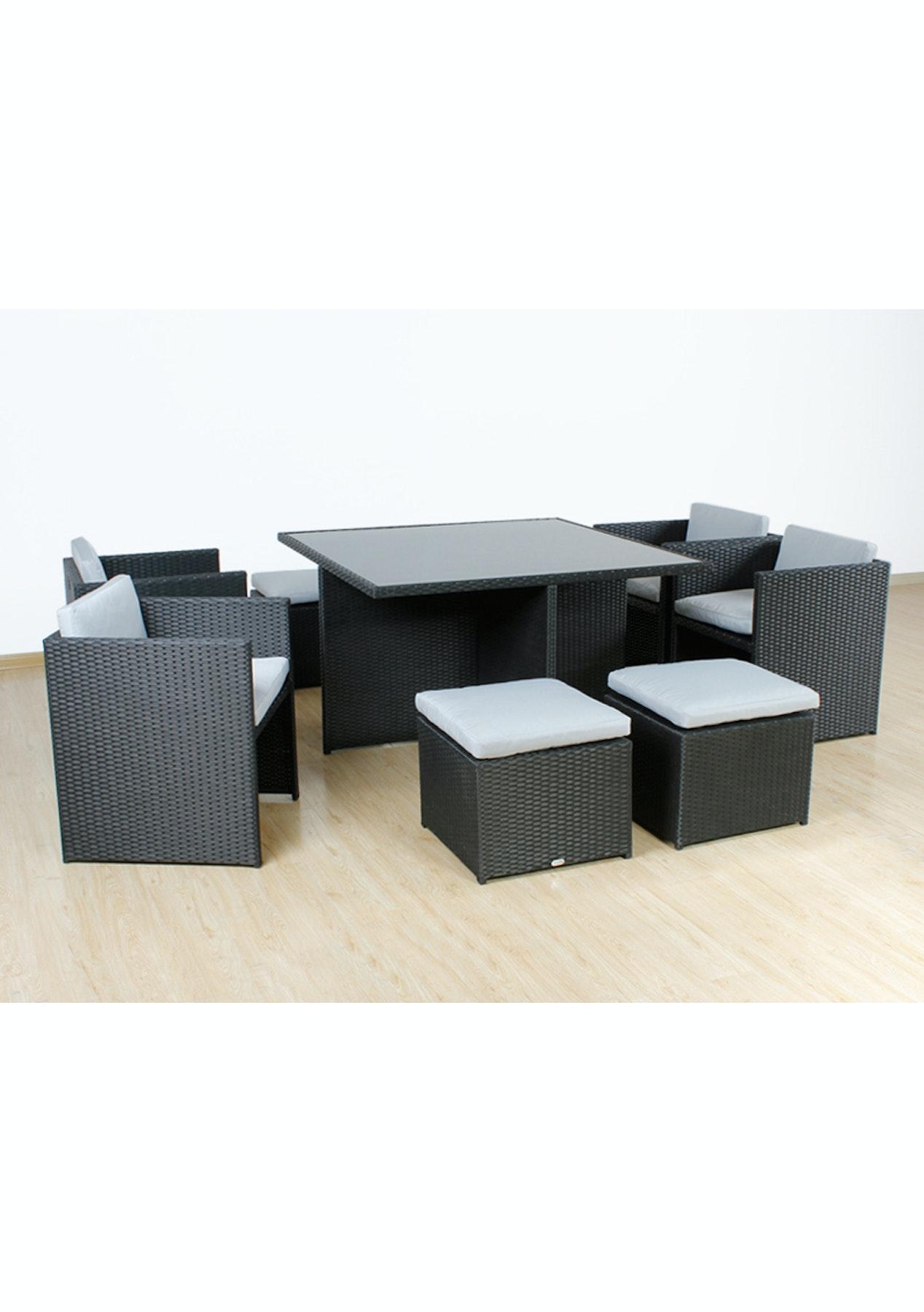Betalife Outdoor Rattan Furniture Sofa Set 9pcs Outdoor Furniture