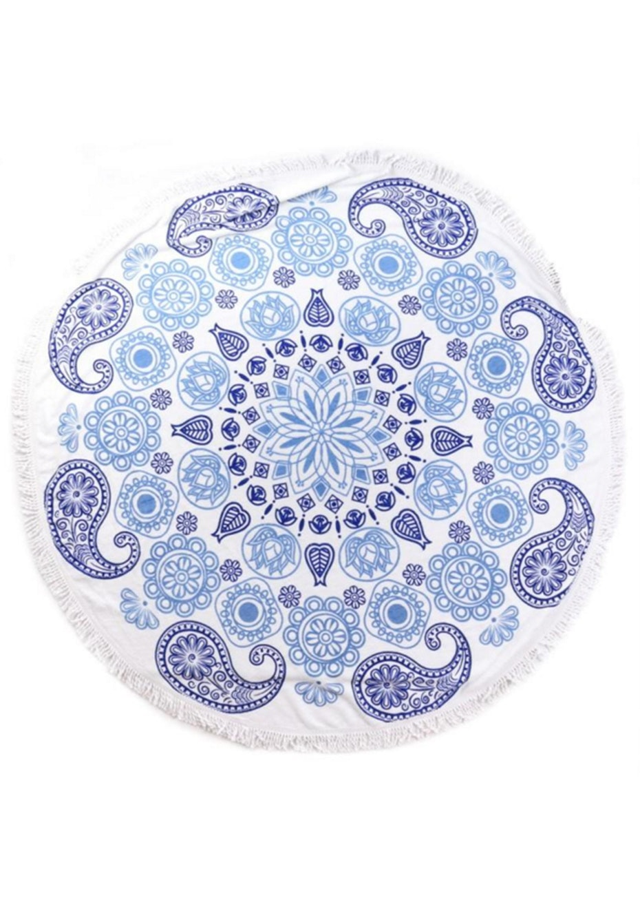 Turkish Summer Round Towel