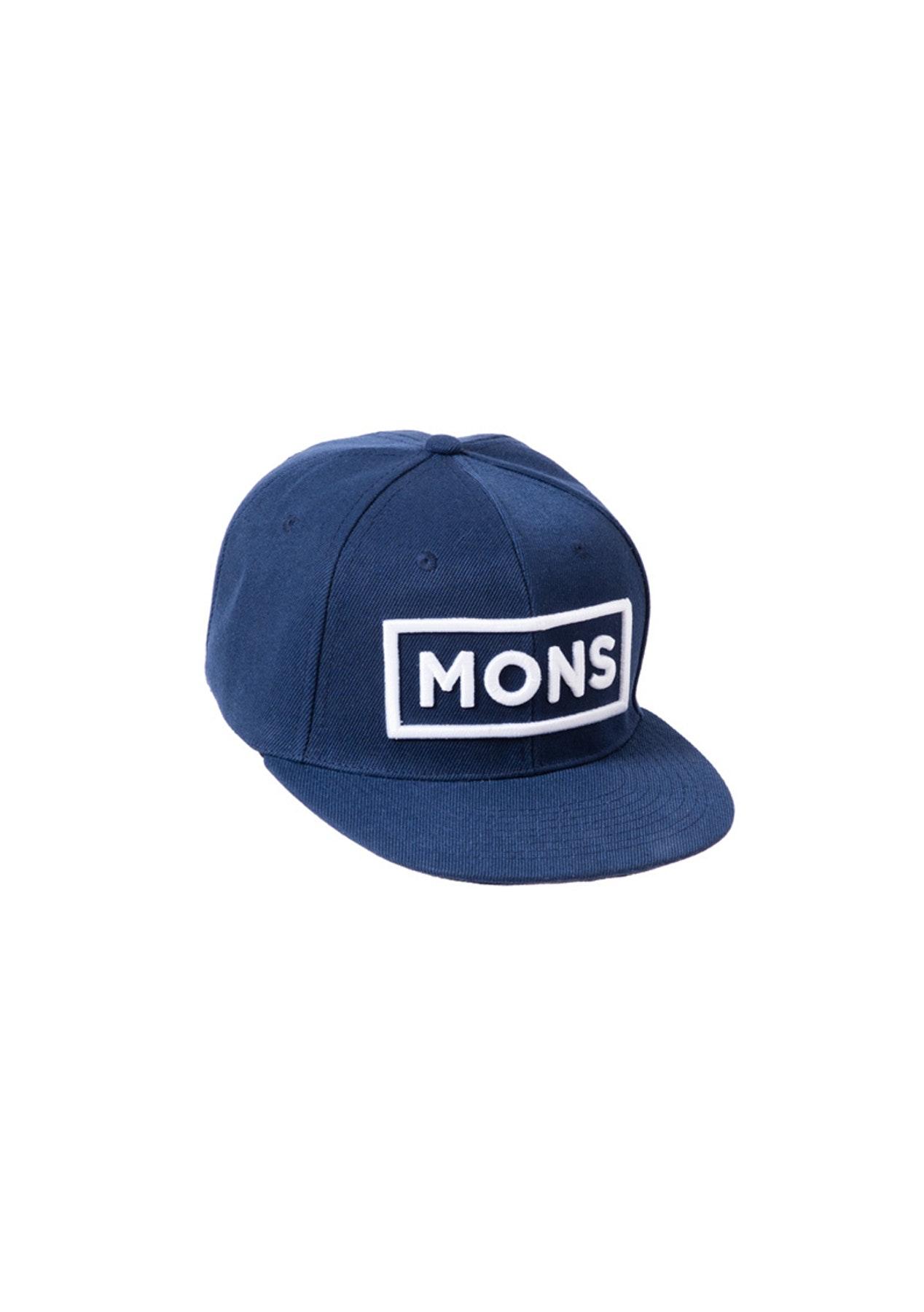 Mons Royale - Connor Cap Border - Navy
