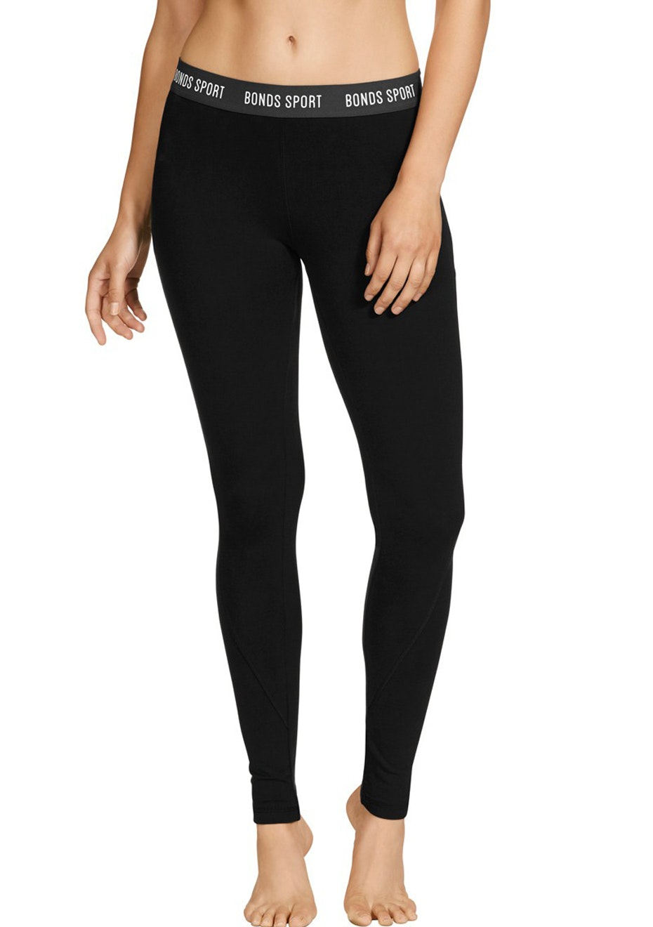 BONDS - Active Cotton Full Legging - Black