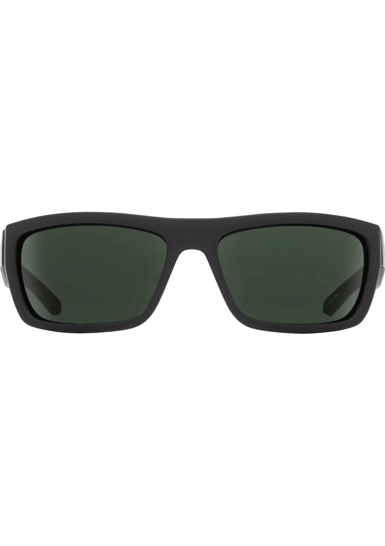 d3aca72189 Spy Dega Sunglasses - Soft Matte Black - Happy Grey Green - Quay Eyewear    More - Onceit