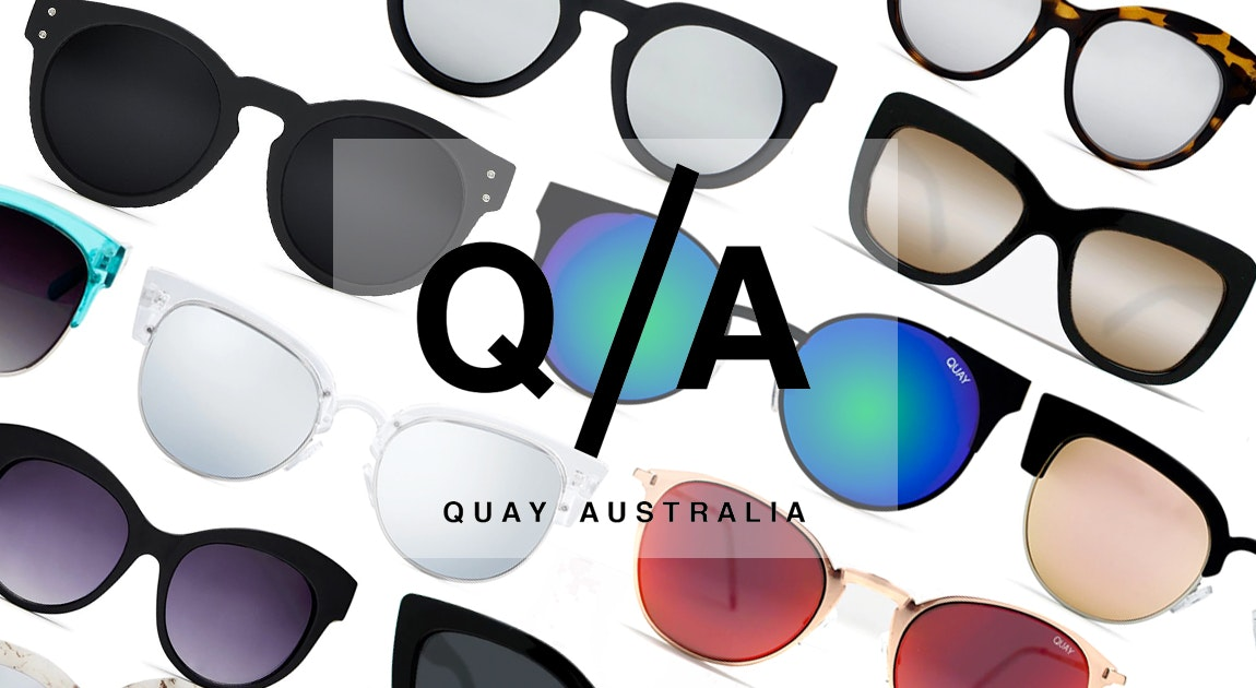 Image of the 'Under $45 Quay Eyewear' sale