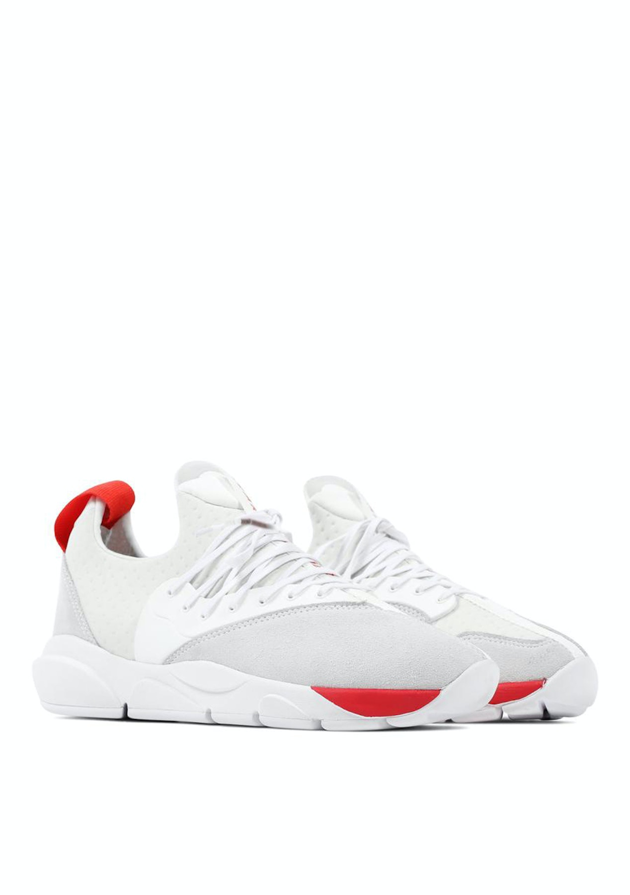 timeless design 2959b f3bad Clear Weather - Cloud Stryk Mens - White Red - Clear Weather Sneakers -  Onceit