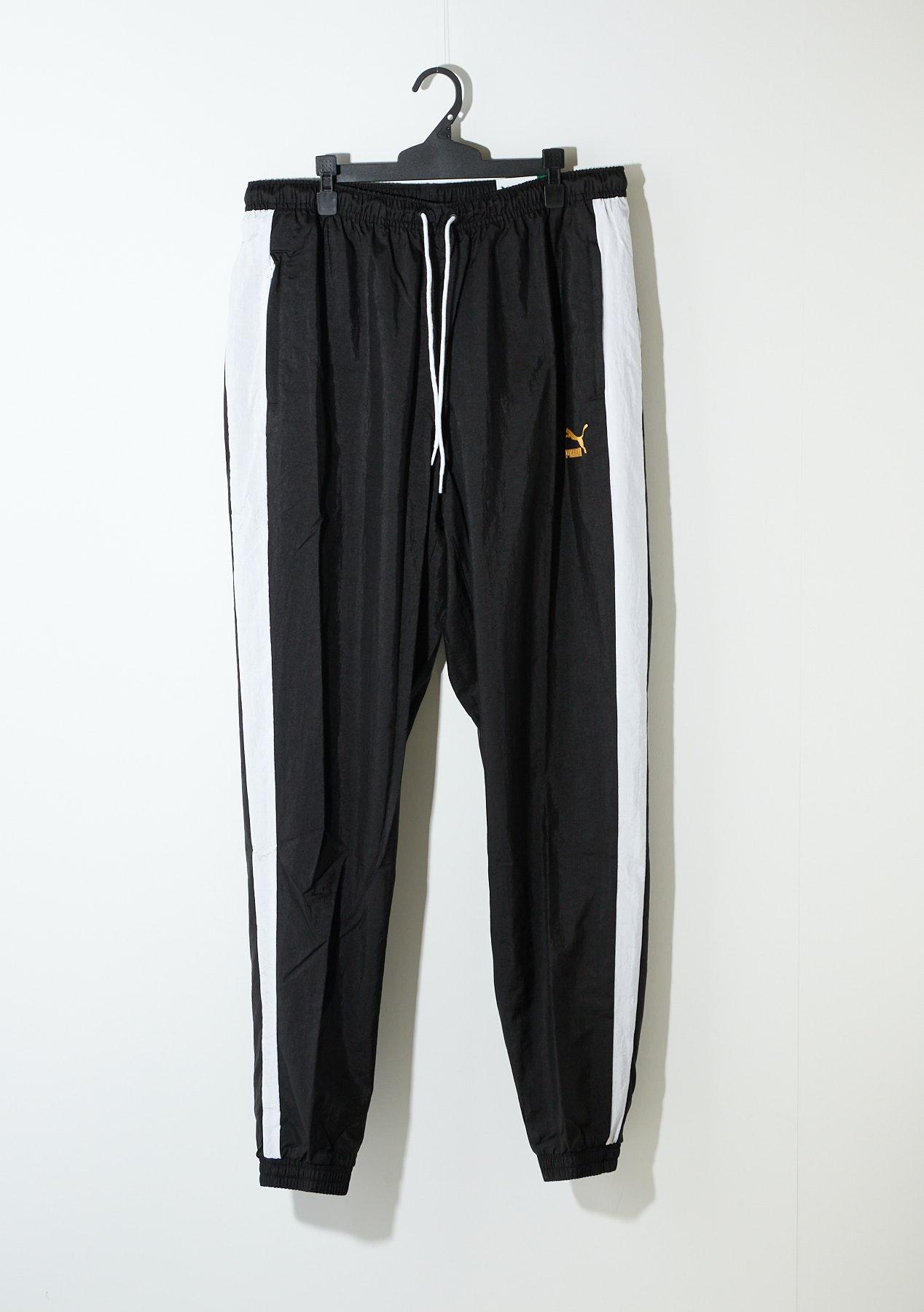 Perceptible Confidencial Al frente  Puma - T7 Bboy Track Pants - Black-White - Mens Essentials - Onceit