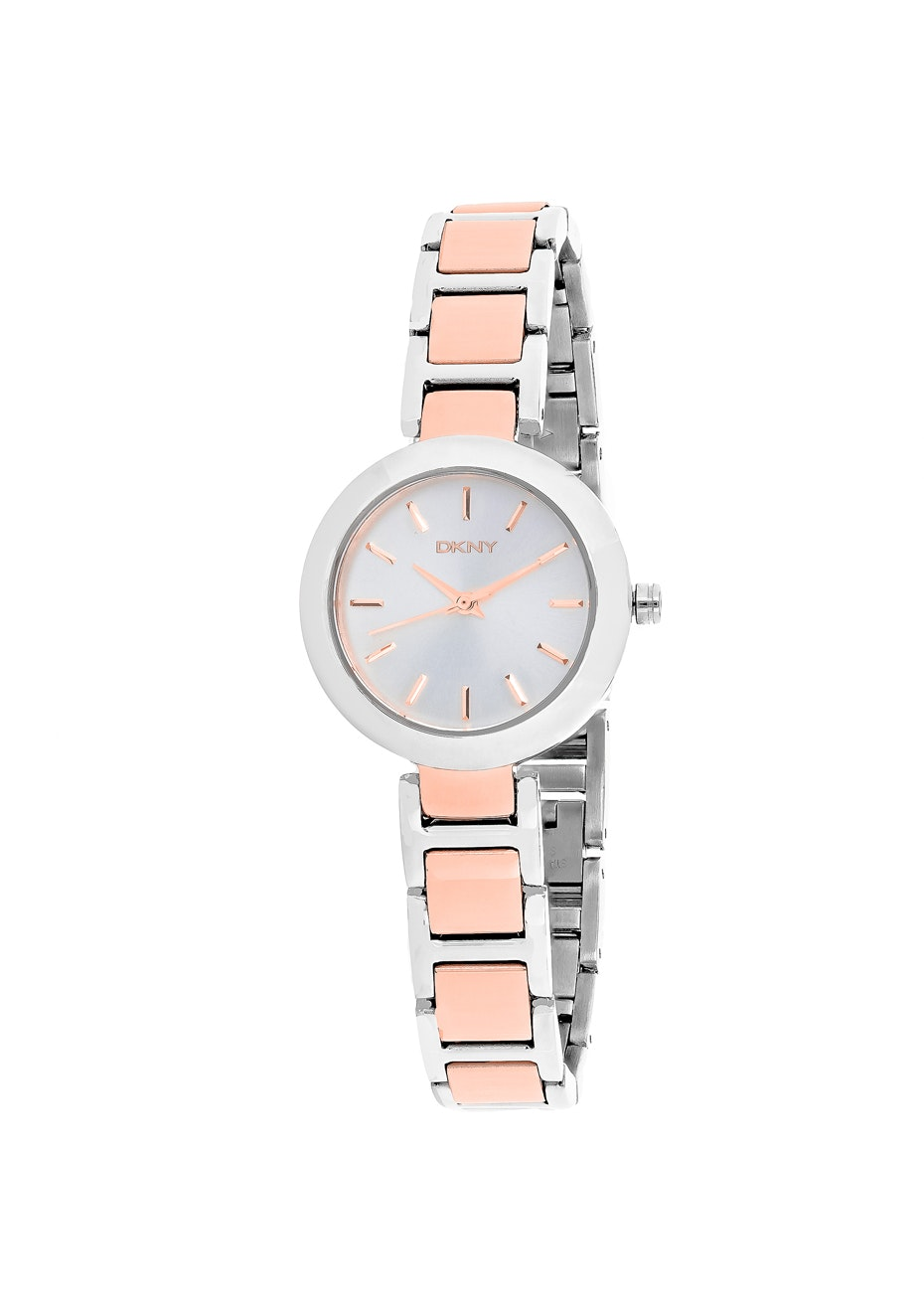 DKNY Women's Stanhope - Silver/Two-tone Rose g