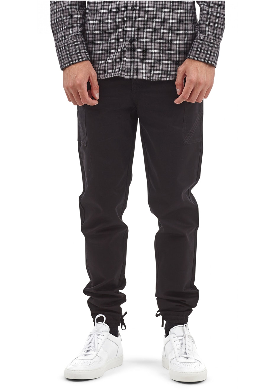 I Love Ugly - Military Pant Black