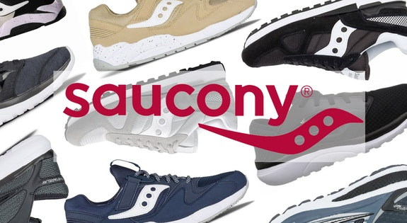 Image of the '$59.95 Saucony' sale