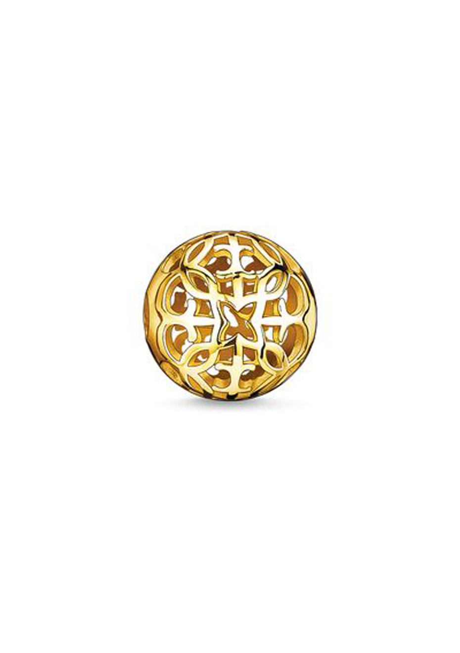 Thomas Sabo  - Karma Bead - Yellow Gold Plated Arabesque