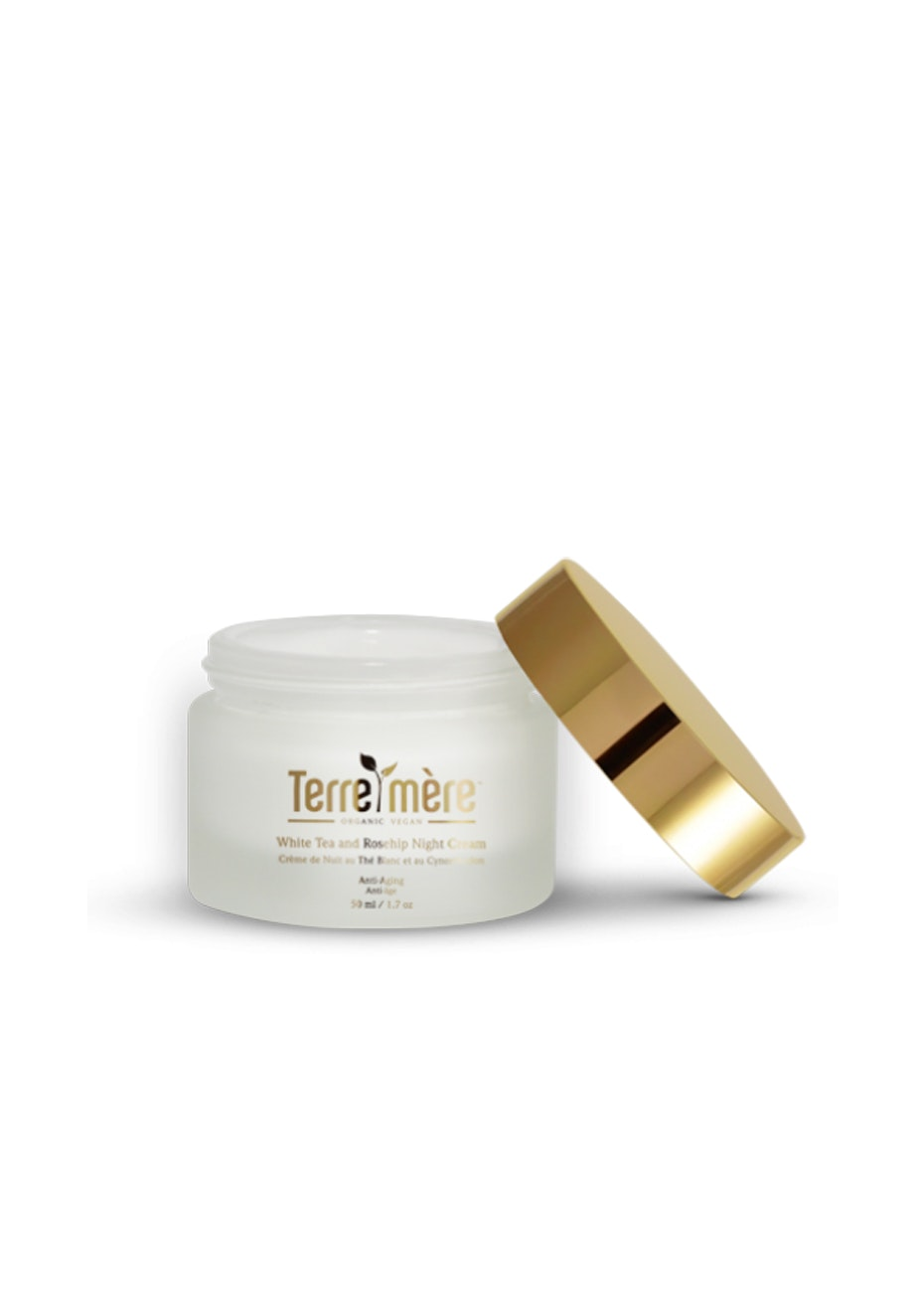 Terre Mere - White Tea and Rosehip Night Cream