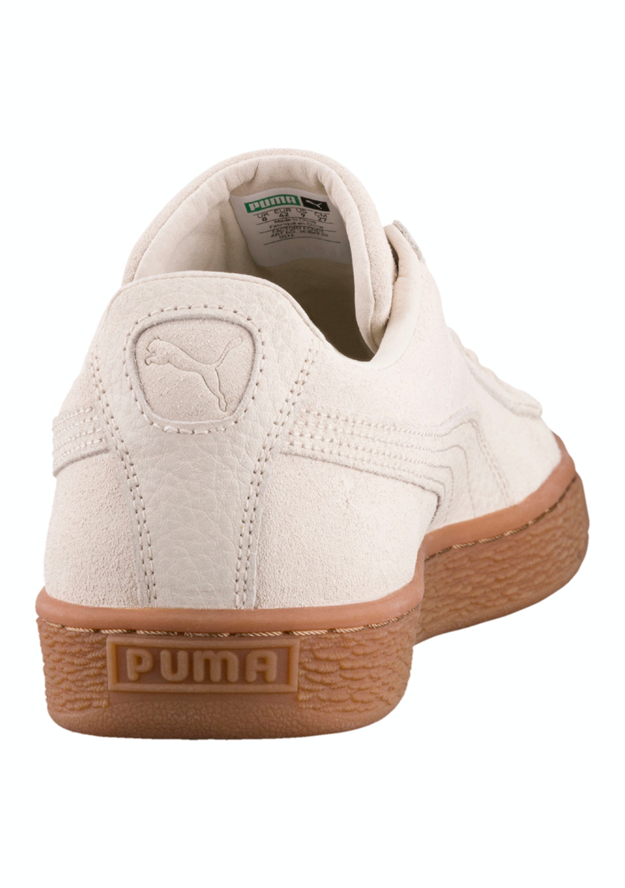 sports shoes df947 22dfd Puma Mens - Suede Classic - Natural Warmth