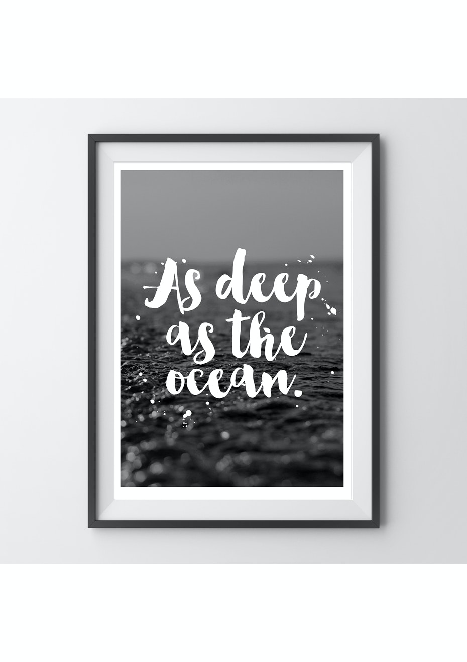 Simply Creative - Deep As The Ocean - A4 Colour Print