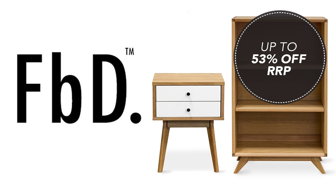 Walnut & Oak Furniture by FbD