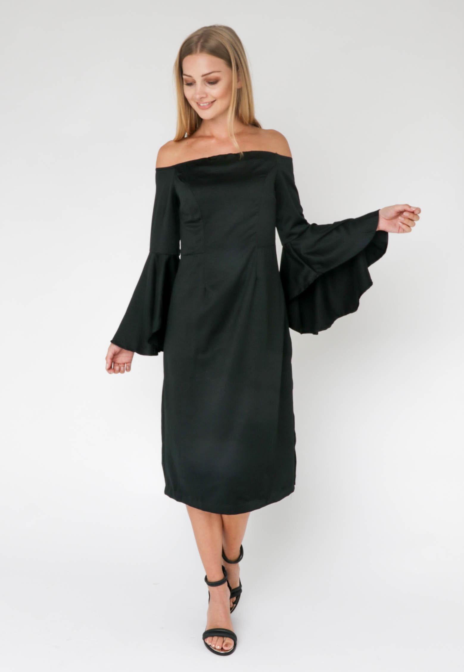 ELLY DRESS - BLACK