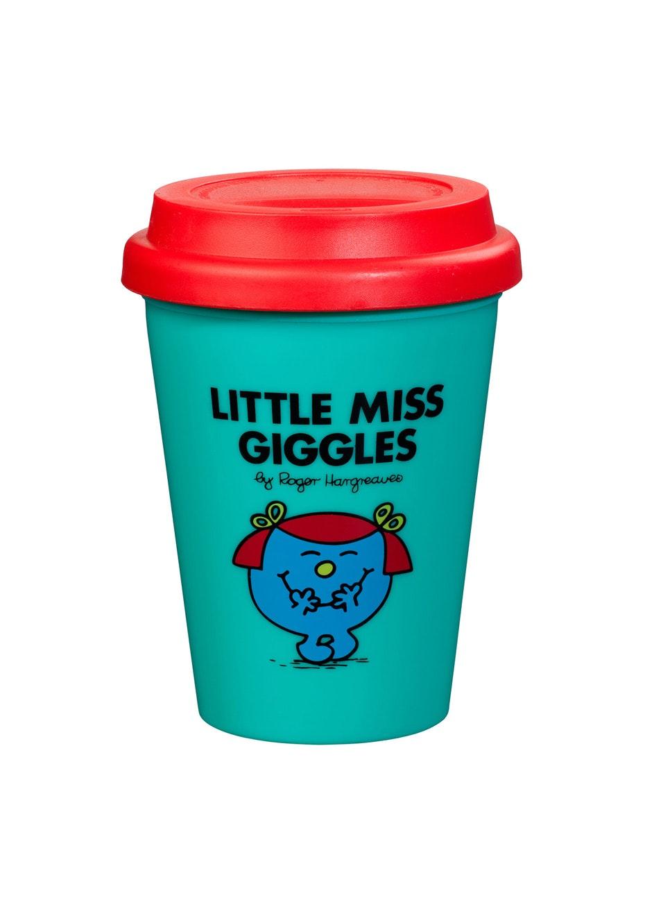 Mr Men - Travel Mug 300ml - Little Miss Giggles