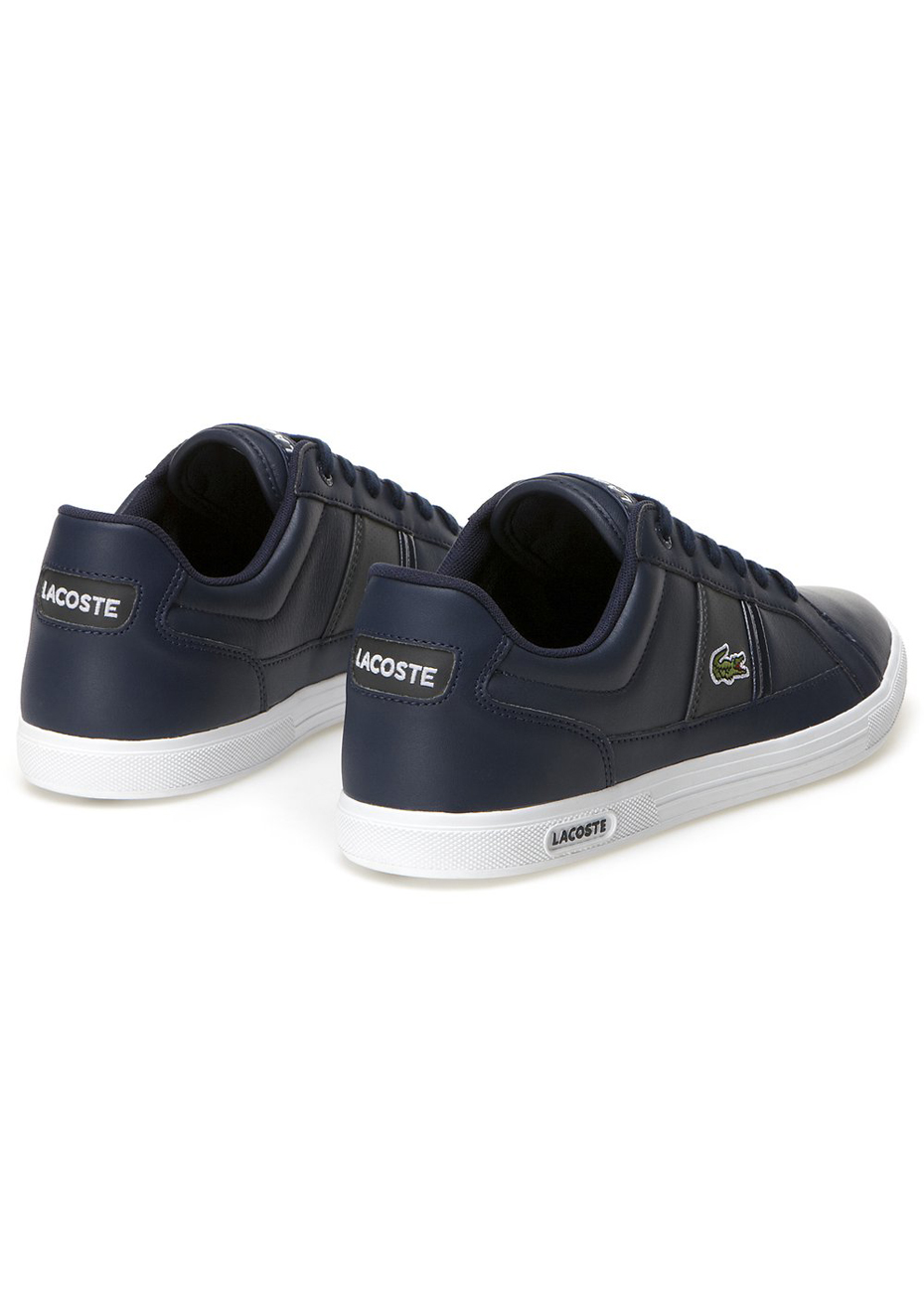 Mens Lacoste - Europa Lcr3 Spm - Navy/Dark Grey - Mens Brand Outlet - Onceit