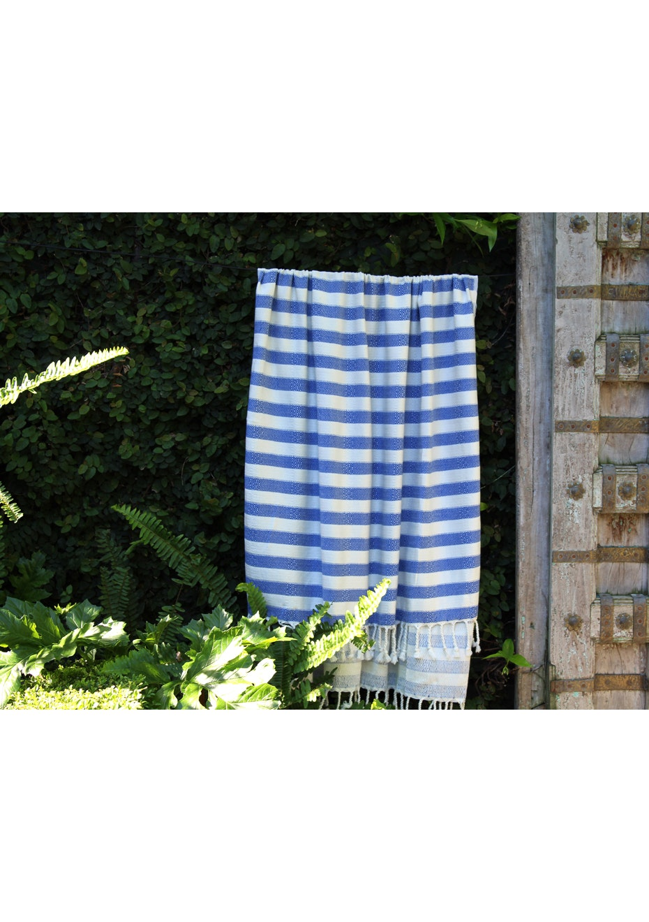 Acelia Royal Blue Turkish Towel