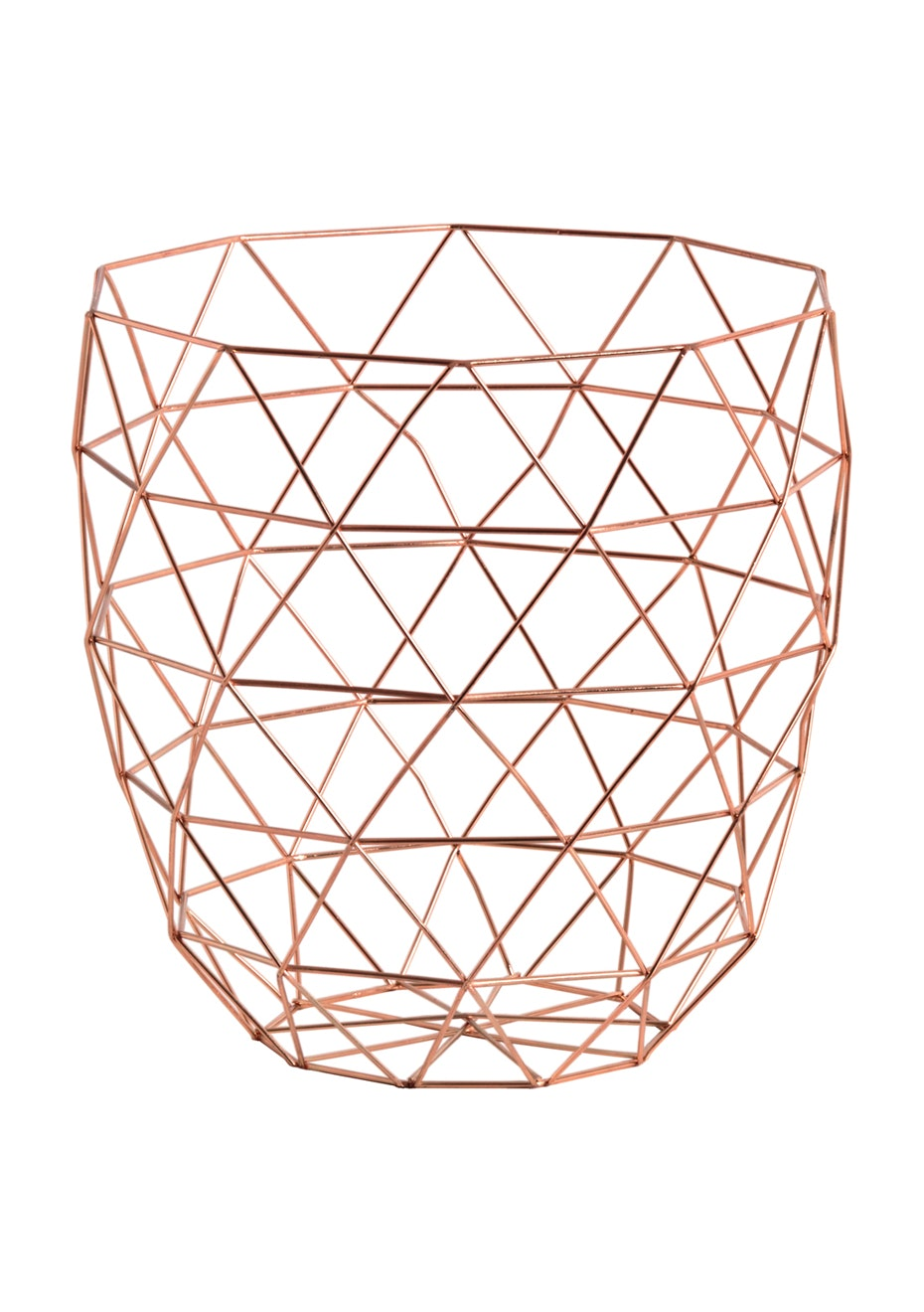 Jason - Copper storage basket - Copper