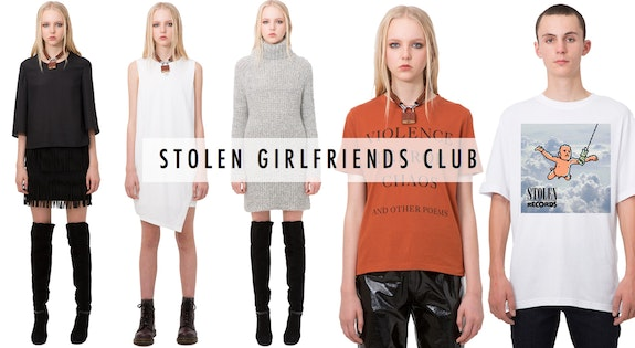 Image of the 'Stolen Girlfriends Club' sale