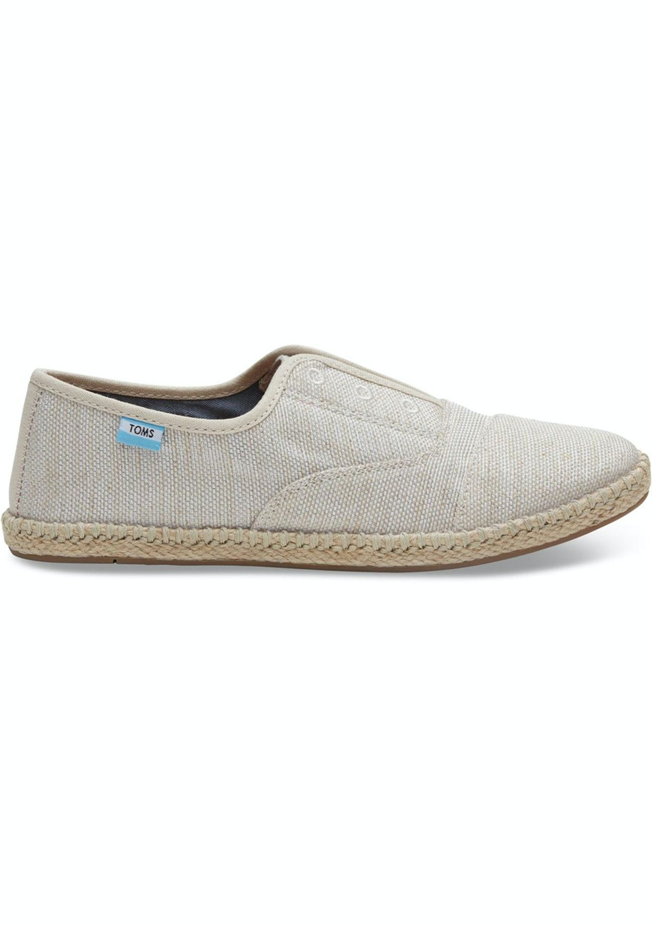 9d6d55cd6d6 Toms - Womens Palmera Slip On - Natural Yarn Dye - Toms - Onceit