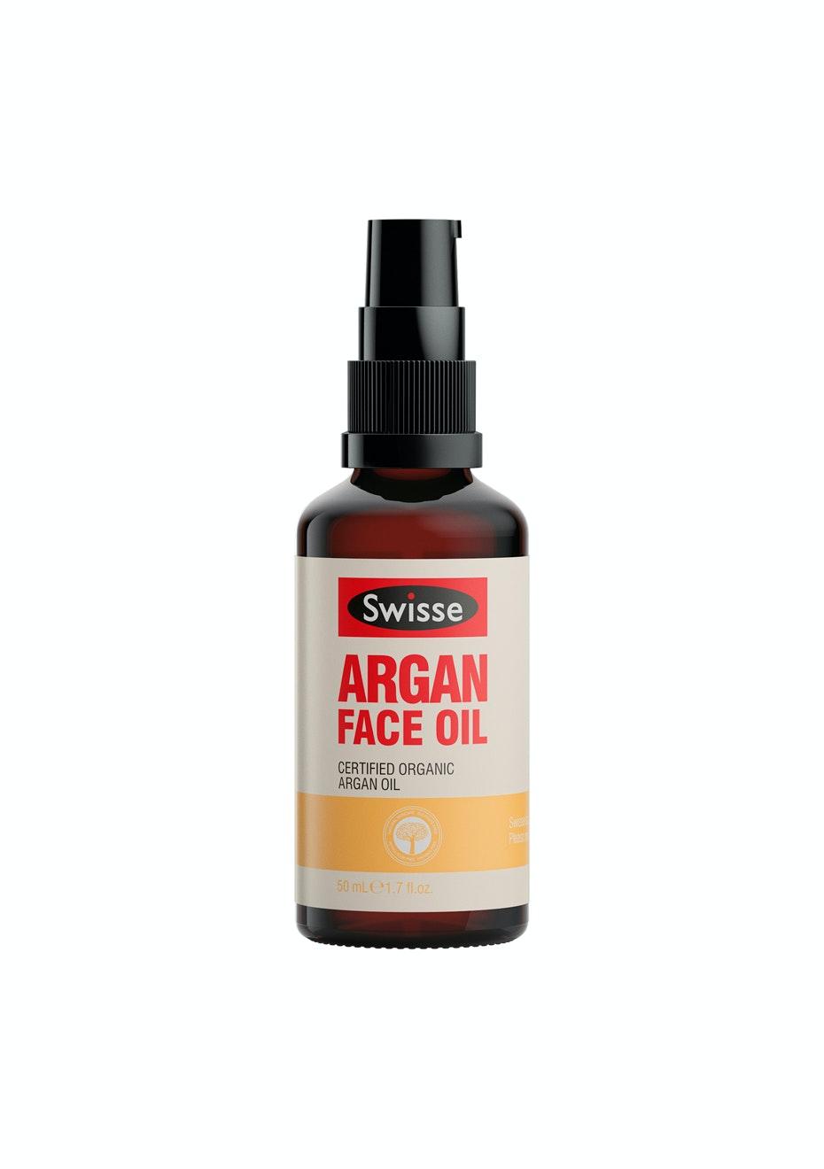 Swisse Argan Face Oil Cert. Organic 50Ml
