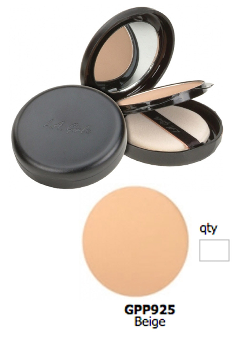 LA Girl Ultimate Pressed Powder - Beige
