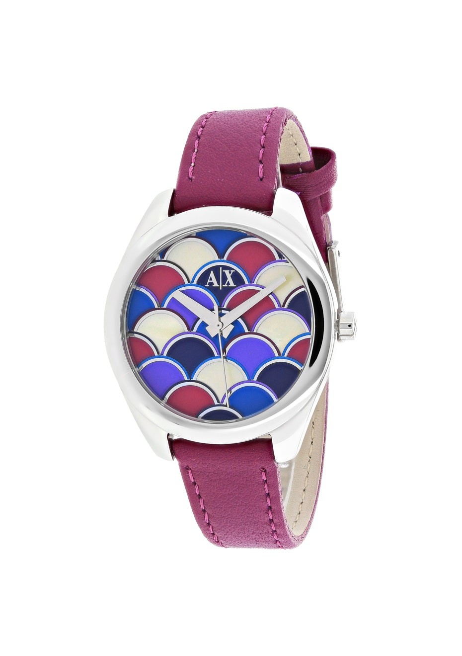 Armani Exchange Women's Serena - Multi-colored mosaic/Purple