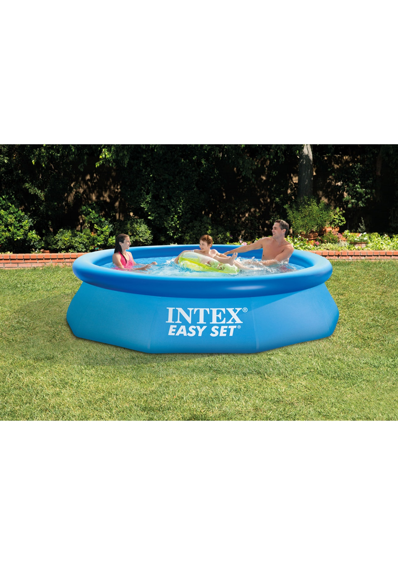 intex 10ft easy set pool intex pools and inflatables. Black Bedroom Furniture Sets. Home Design Ideas