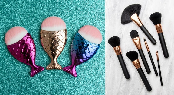 Mermaid Make Up Brushes & More