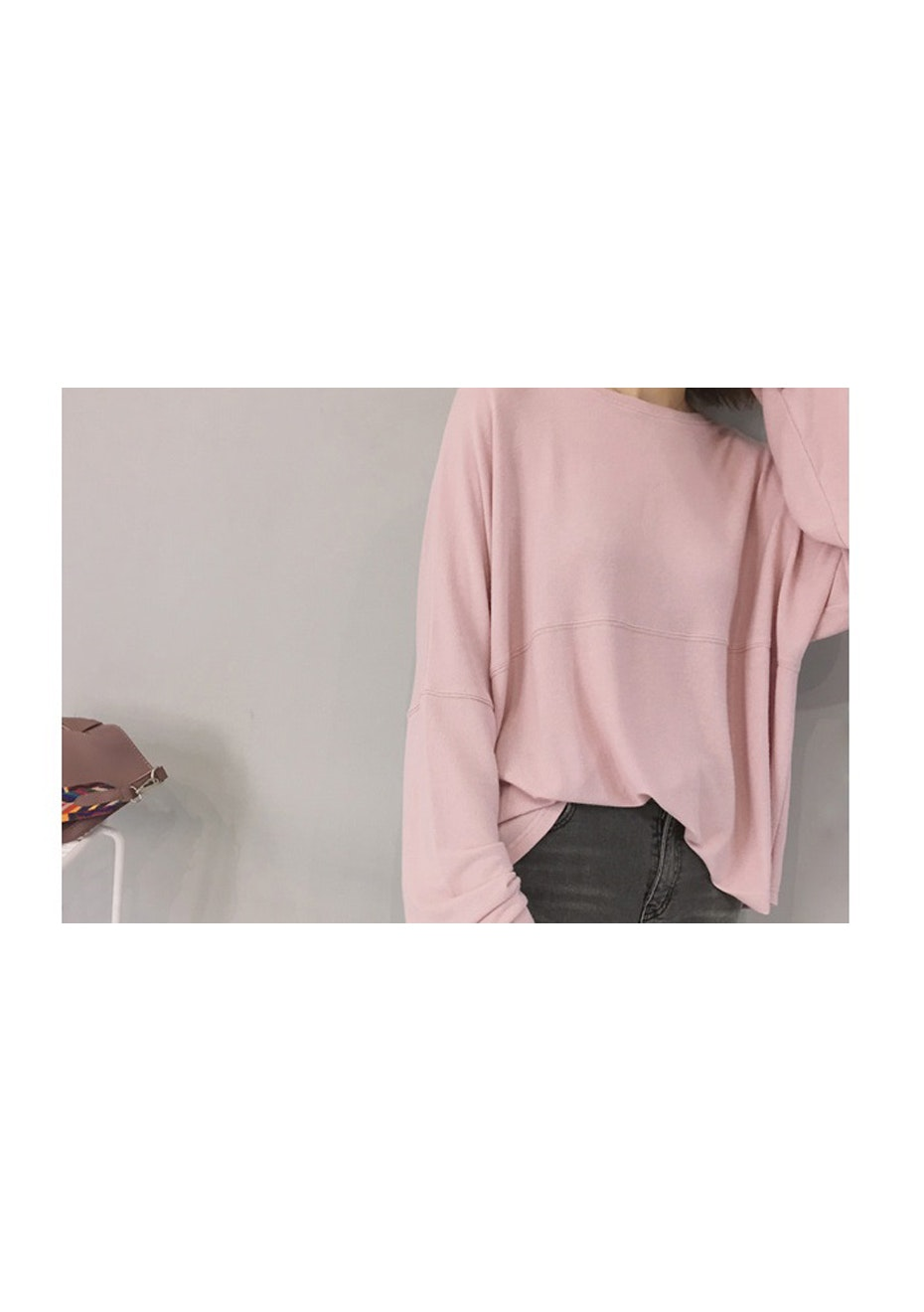 Zine Knit Jumper - Blush