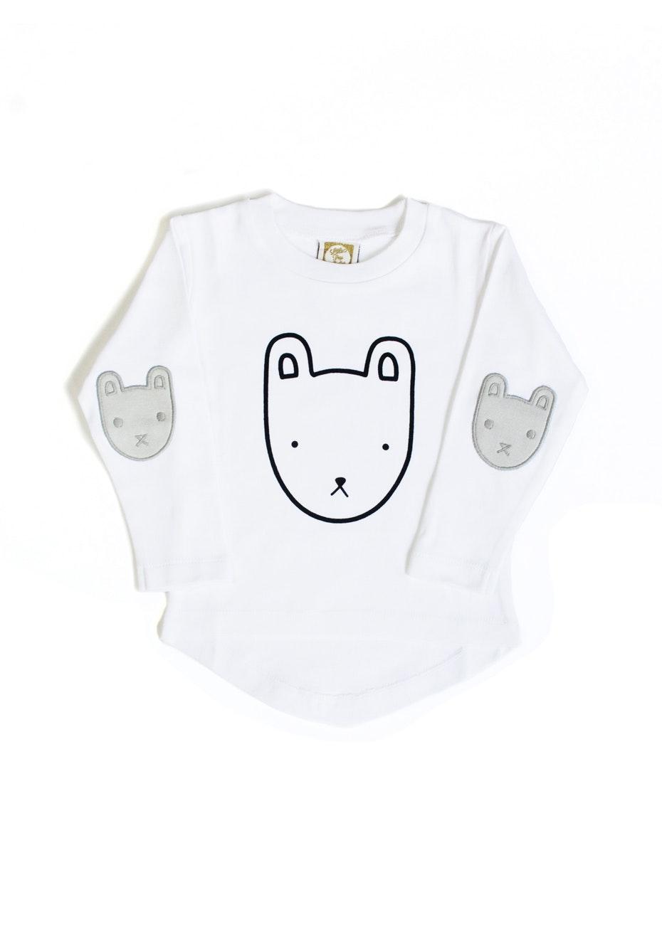 Le Edit - Little Bear Long Sleeve Tee