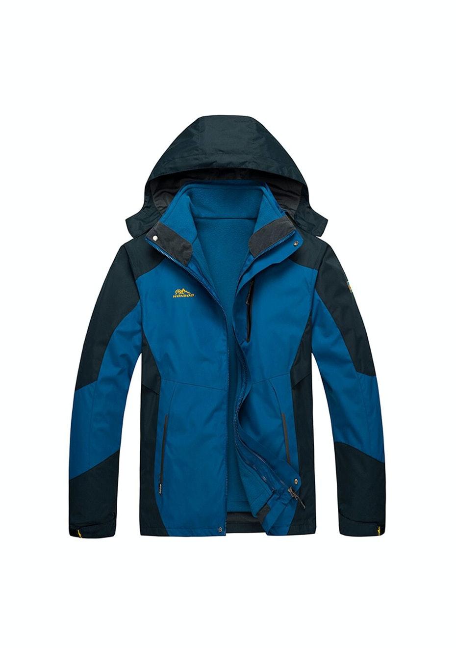 Men 2-in-1 WaterProof Jackets - Blue