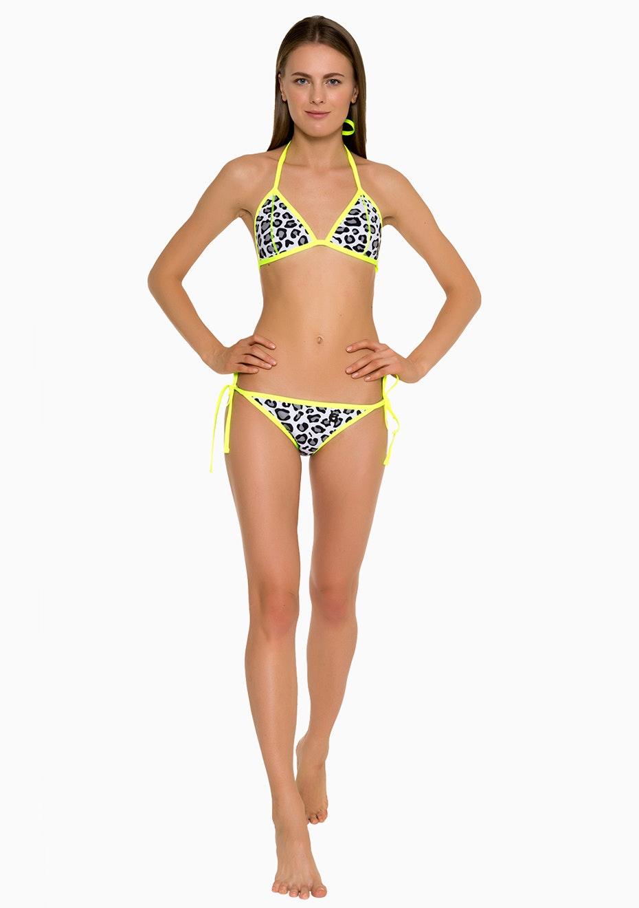 Glide Soul - Bikini Bottom 0.5 mm - Leopard/ Lemon
