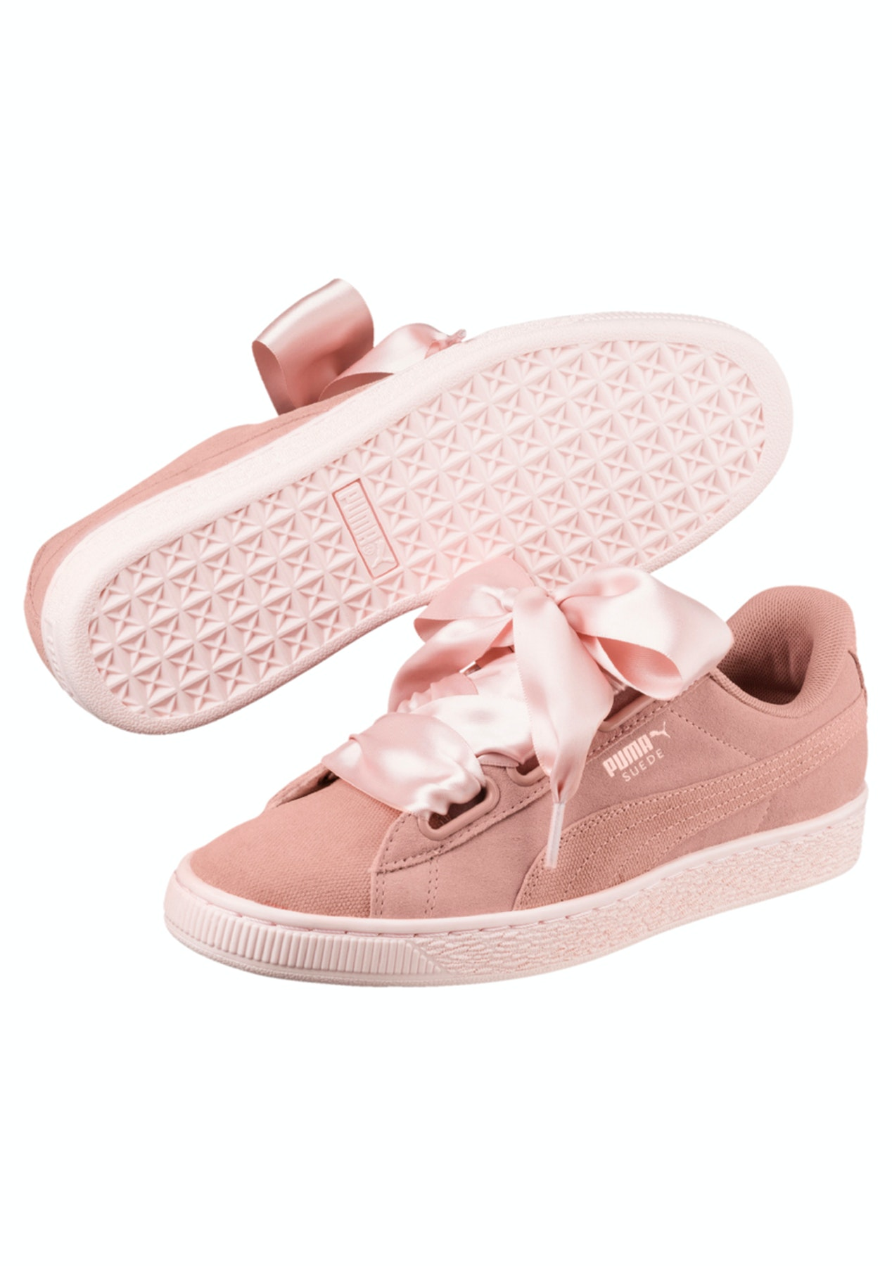 3b11b366e24 Puma Womens - Suede Heart Pebble Peach - Puma Womens   Kids up to 63% Off -  Onceit