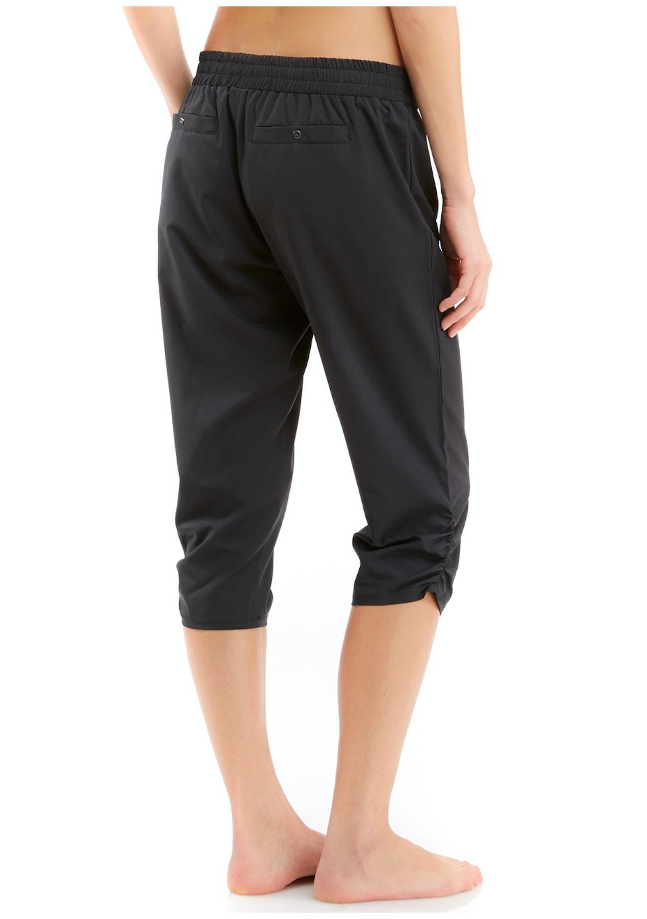 a2ba3be031eb Marika Tek - Ruched Capri Jogger - Black - Marika Activewear Up To 63% Off  - Onceit