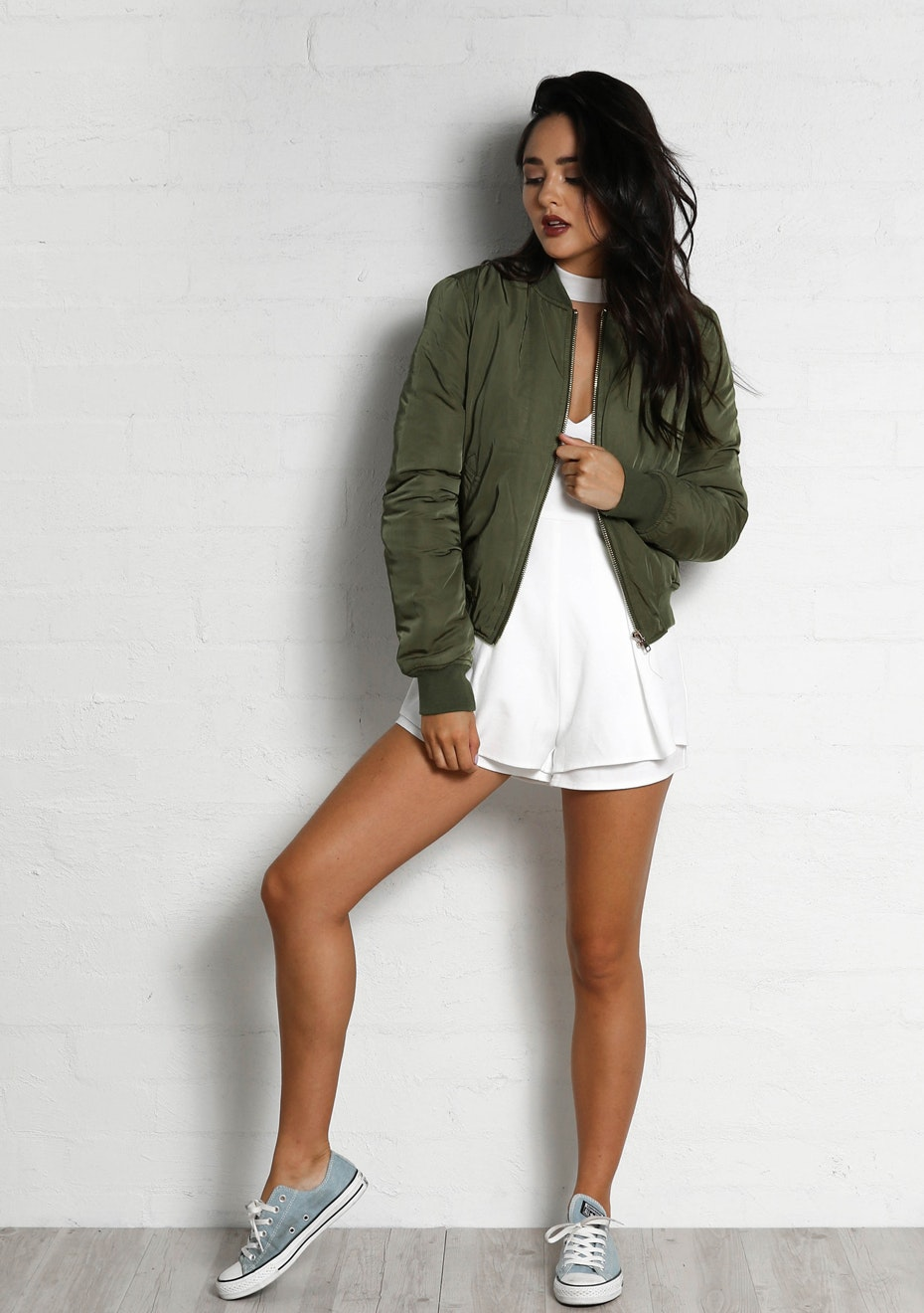 Madison - BOMBER JACKET - KHAKI