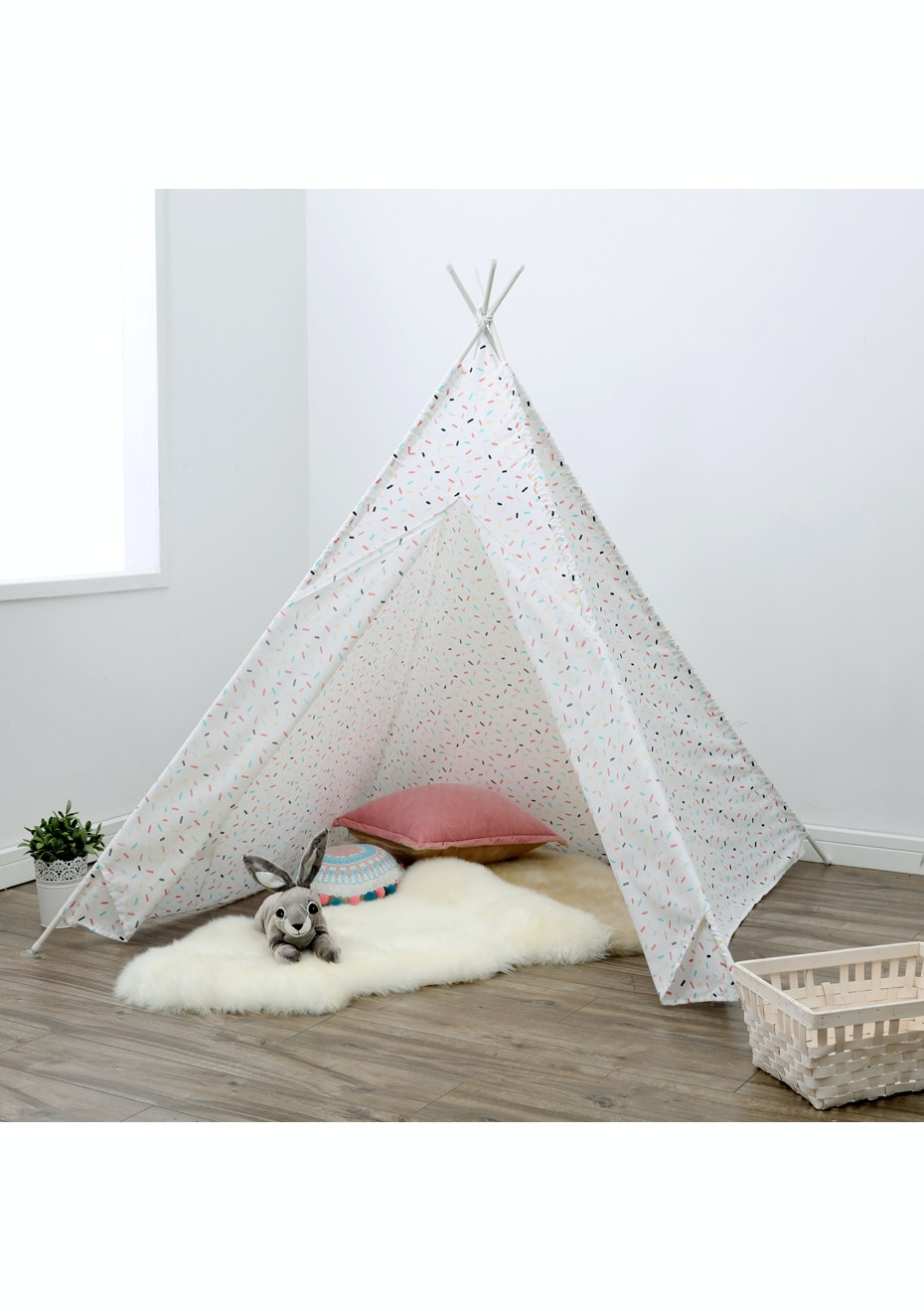 Ice Cream Tee Pee Tent