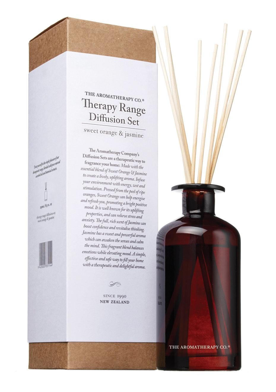 The Aromatherapy Co.  Therapy Diffusion set - Sweet Orange & Jasmine