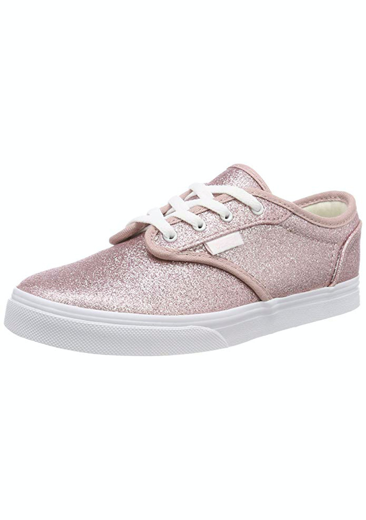 Vans - Kids Atwood Low - Glitter - Pink - Vans for The Family - Onceit c7b3bceb6eef