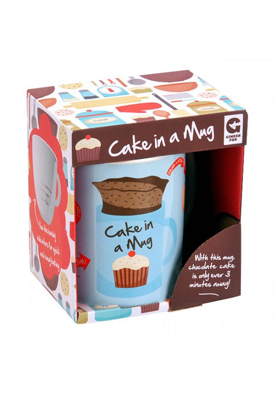 Ginger Fox - Cake In A Mug