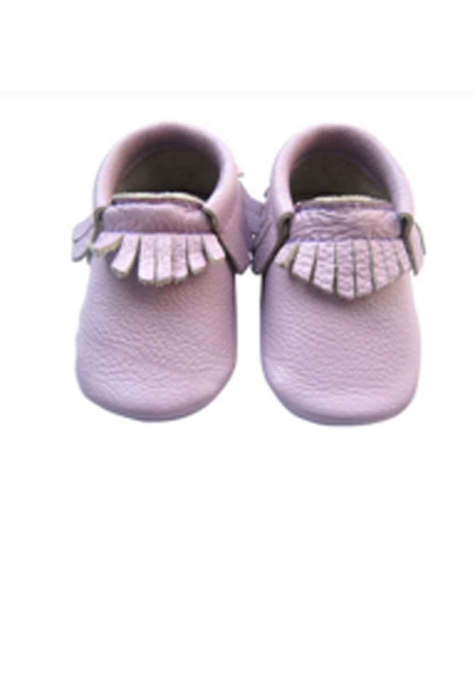 Baby  Leather Shoes - Lavender